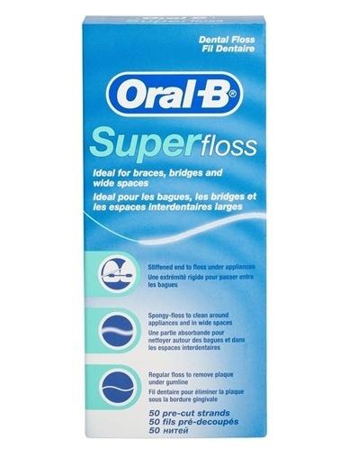 Oral-B Oral B Super Floss Diş İpi Renkli
